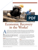 Economic Recovery in the Works, May-June 2009 China Business Review