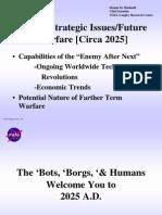 NASA War Document-Future Strategic Issues and Warfare