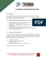 Centros Control Motores Net Line