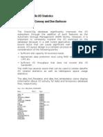 ORACLE GUIDE - 10g Datafile IO Statistics