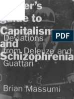 Brian Massumi - A Users Guide to Capitalism and Schizophrenia, Deviations From Deleuze and Guattari