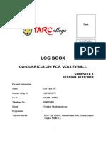 Sample Log Book 201009