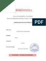 Informe Contador 0 Al 9 Con Transistores