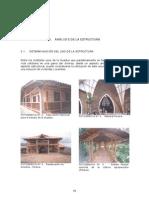 Analisi de La Estructura en Guadua