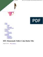 DIY_ Homemade Yellow Cake Batter Mix _ Brown Eyed Baker