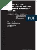 cruzando fronteras transnacionalismo político en la comunidad dominicana de Nueva York