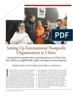 International Nonprofits in China, May-June 2009 China Business Review