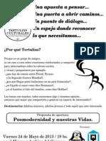Tertulias - Afiche