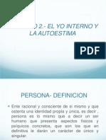 Capitulo 2.- El Yo Interno y La Autoestima.