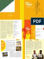 Saberes Del Pueblo (Editorial 2011) PDF