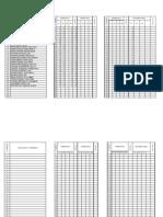 REGISTROS Evaluación. lista-ESF.2913. Cuarto  B