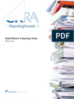 Corporate Register Reports Awards