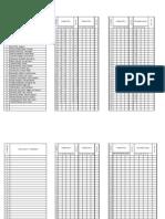 REGISTROS Evaluación. lista-ESF.2913. Cuarto  C