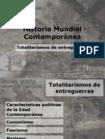 Totalitarismos y Entreguerras