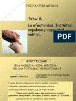 Tema 8 de Psicologia Medica