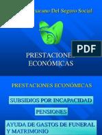 PRESTACIONES ECONOMICAS IMSS