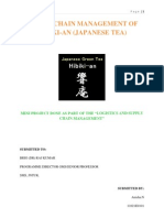 supply chain of Tea