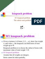 3.6 the Knapsack Problem