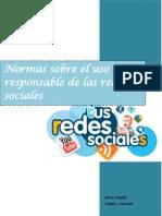 Normas Sobre El Uso Responsable de Las Redes Sociales