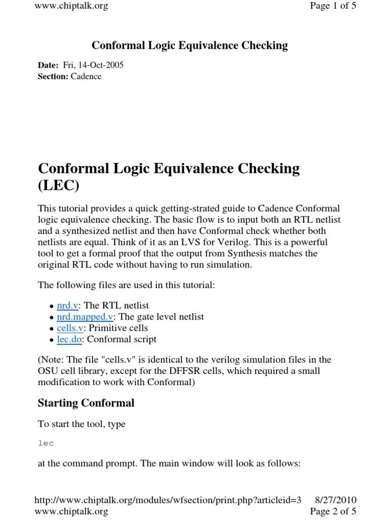 cadence conformal lec user manual expert user guide u2022 rh userguidenet today Lec Logo Lecs Sac State