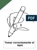 Tomar correctamente el lápiz