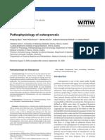 Pathophysiology of Osteoporosis