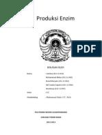 Produksi Enzim