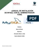 MySql_Yog