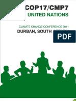Summary and Analysis of Durban Meet