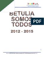 Plan de Desarrollo 2012 - 2015 Betulia Somos Todos - Definitivo
