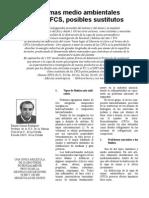 07 Problemas Medio Ambientales de Los CFCS, Posibles Sustitutos