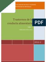 Trastornos de La Conducta Alimentaria - Natalia Isabel Pedroza