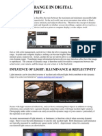 Dynamic Range in Digital Photography