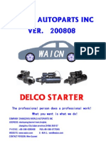 Delco Starter 200808