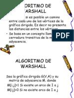Algoritmo de Warshall-1