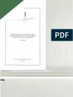 Normas Particulares de Habilitación para la Instalación y Funcionamiento de Centros con Internamiento