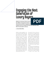 Engaging the Next Generation of Luxury Buyers