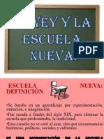Dewey y La Escuela Nueva 2