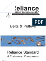 Belts and Pulleys