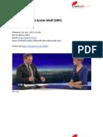 """""""Das muss erst geprüft werden, bitte."""" – Interview-Transkript zu Beatrix Karl und Armin Wolf"""
