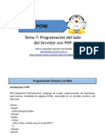 07-Programacion Del Lado Del Servidor Con PHP