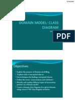 Domain Model-Class Diagram