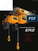 Kito Electric Hoist Catalogue
