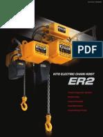 Kito Electric Hoist Catalogue