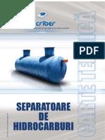Carte Tehnica Separatoare de Hidrocarburi