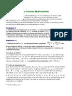 Apuntes de Qumica Cuntica II Postulados