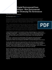 Crown Jakarta Capital Environmental Scam Management Solutions - How Environmental Organizations Are Destroying the Environment