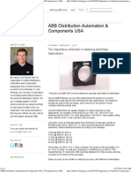 ABB Distribution Automation & Components USA_ the Importance of Burden in Metering and Relay Applications
