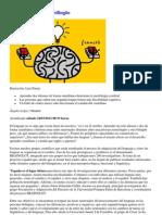 El mapa del cerebro bilingüe