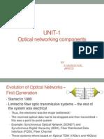Optical Communication Unit-1
